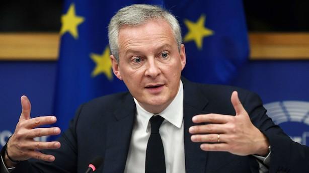 """Skat på Google og Facebook er en """"rød linje"""" for fransk regering"""