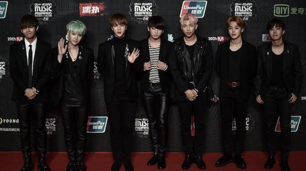Koreansk boyband stod bag det mest populære tweet i 2018
