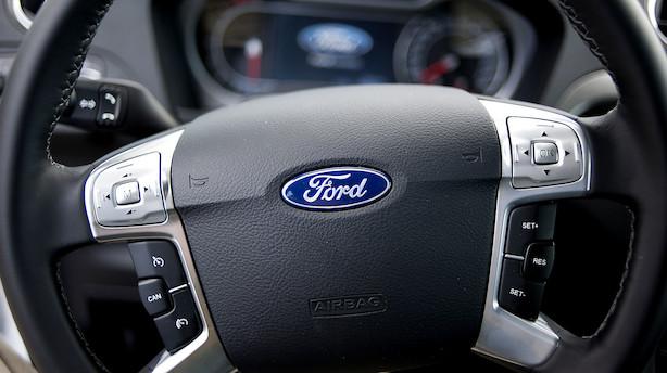 Stor ledelsesrokade i Ford: Fem får nye direktørtitler - én går på pension