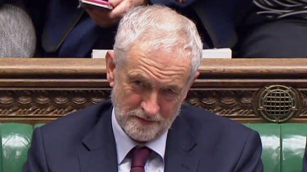 Labour fremsætter mistillidsvotum - vil vælte Theresa May onsdag
