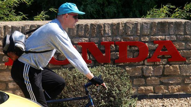 Medier: Honda vil lukke fabrik i Storbritannien