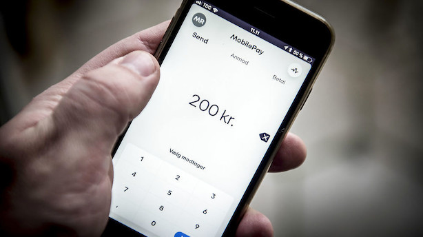 Mobilepay får 200 nye erhvervskunder om dagen