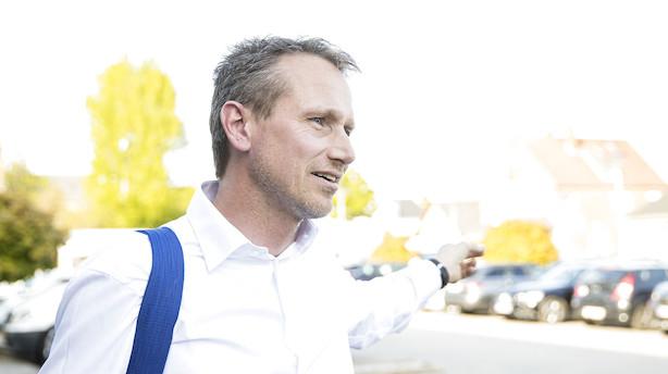 Kristian Jensen vil have en blå regering - men vil gerne samarbejde med S