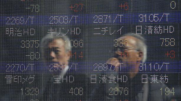 Asien: Let negativ undertone i Asien efter fald på Wall Street
