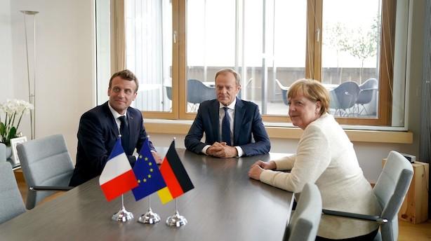 Flere EU-ledere tvivler på aftale om topposter i aften