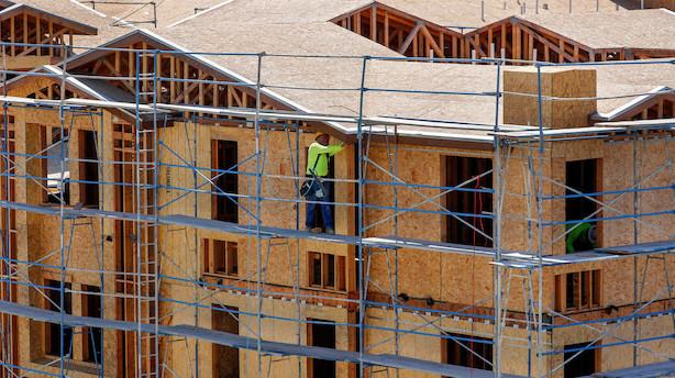 USA: Påbegyndt boligbyggeri ramte lidt lavere end ventet