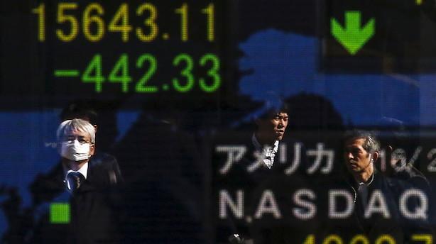Aktier: Kommende inflationsdata giver vigende markeder i Asien