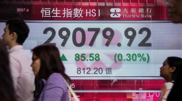 Mens du sov: Positive takter på de asiatiske markeder