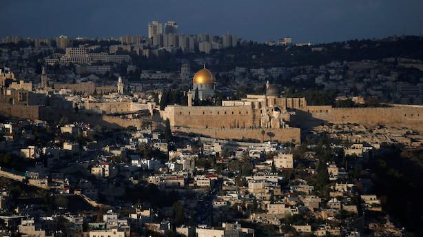 Den Arabiske Liga indkalder til krisemøde om Jerusalem
