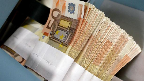 Valuta: Stærk euro dominerer udviklingen
