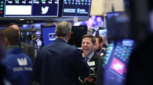 """USA-aktier stiger for fjerde dag i træk: """"Markedet har opdaget, at økonomien stadig har det fint"""""""