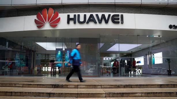 Aktier: Kraftige asiatiske kursfald i kølvandet på Huawei-anholdelse