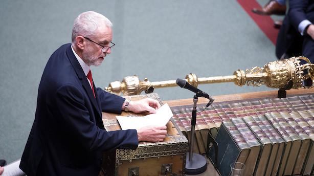 Flertal i Underhuset afviser at løse brexit-krise med ny folkeafstemning