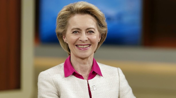 EU-kabalen gik op: Tysk forsvarsminister nomineret som ny formand for EU-Kommissionen