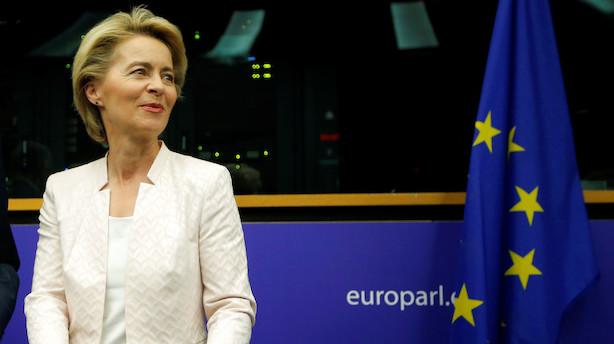 Her er EU's fire nye ledere: Kom tættere på den hårdtslående tyske forsvarsminister og Belgiens yngste premierminister gennem tiderne