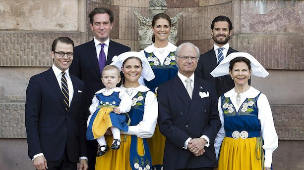 Bankaktierne er i høj kurs hos den svenske kongefamilie