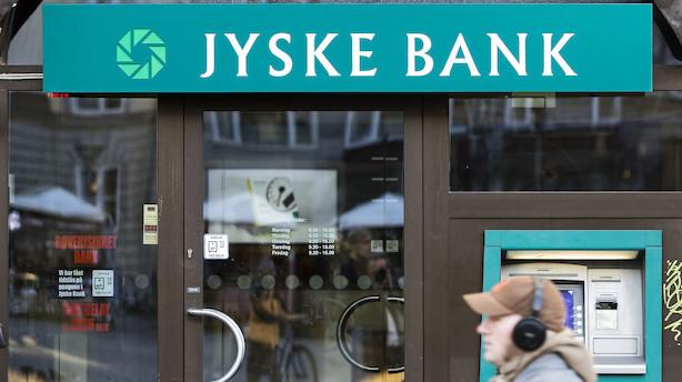 UBS: Tror ikke de store banker følger Jyske Banks negative linje