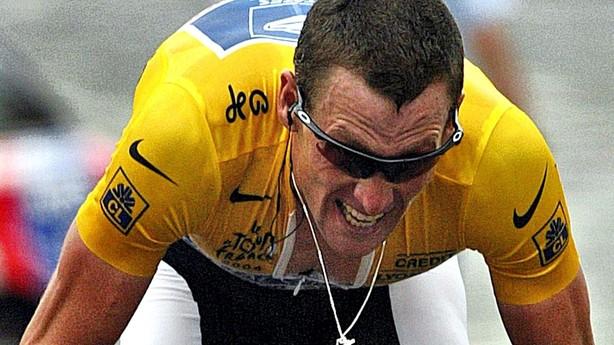 Lance Armstrong frataget Tour de France-titler