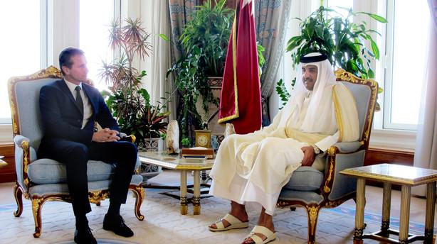 Kristian Jensen kæmper for Maersk Oil i Qatar