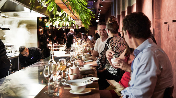 Toprestauranter på den helt anden side af kloden