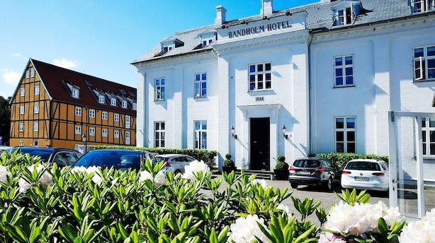 Top komfort nær kanten af Danmark