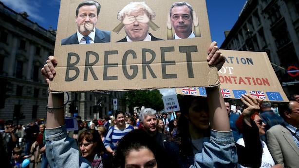 Efter Brexit: 90.000 danske job er i fare
