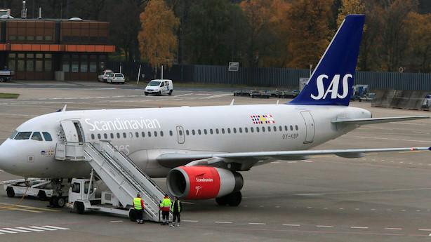 Medie: Pilotstrejke i Cimber kan ramme SAS-flyvninger om få uger