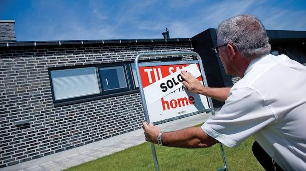 Så mange huse blev solgt hver dag i 2017