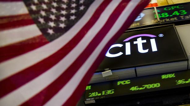 Citigroup overrasker - leverer bedre end mest optimistiske gæt