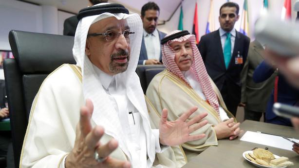 Opec er nået til enighed: Opjusterer olieproduktionen med 1 mio tønder