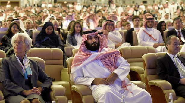 Saudi-Arabien lander milliardaftaler ved investeringsmøde