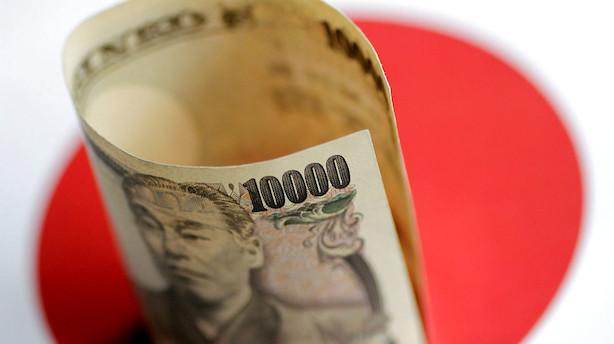Valuta: Ny omgang aktiekursfald giver bud efter yen