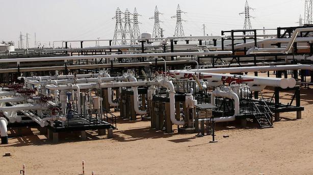 Råvarer: Rekordhøj amerikansk produktion sender oliepriserne ned