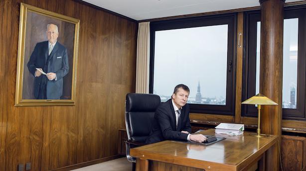 """Topchef i Arbejdernes Landsbank efter hastigt dalende overskud: """"Vi rammer inden for skiven"""""""