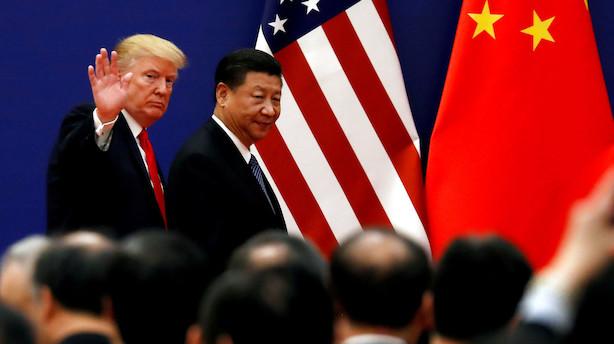 Trump sender morgen-tweetstorm mod Kina -  fastholder at straftold er bedre end handelsaftale
