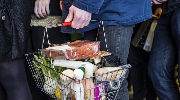 Priserne på danske fødevarer er de højeste i EU