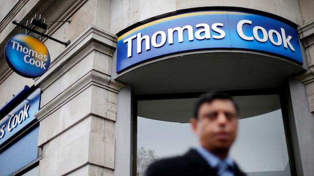 Medie: Spies-ejer Thomas Cook er tæt på konkurs