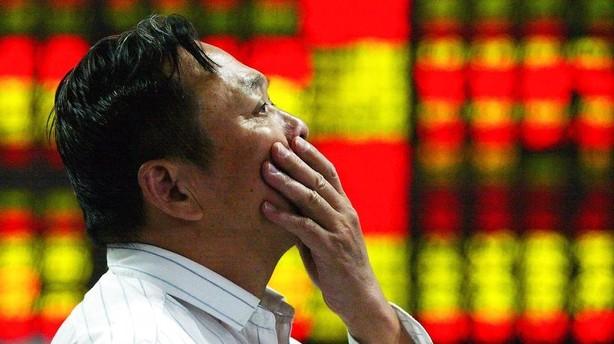 Aktier: Ny kinesisk uro giver rød begyndelse på februar