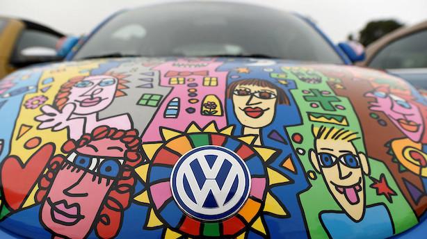 VW betaler 30 milliarder kroner i bod til USA for miljøfusk