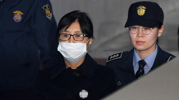 Ven til vanæret præsident i Sydkorea får 20 år for Rasputin-rolle