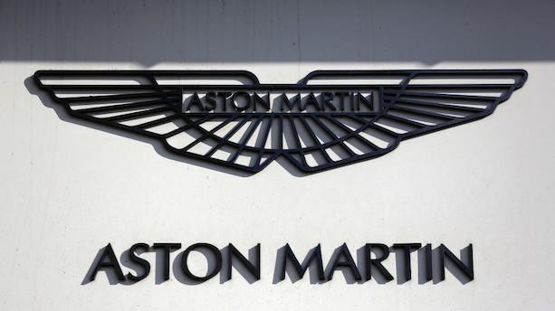 Aston Martin kører ind på børsen med rød aktie