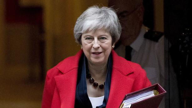 """May aflyser brexit-afstemning: """"Hvis vi holdt fast og afholdt afstemningen i morgen, ville aftalen blive afvist"""""""
