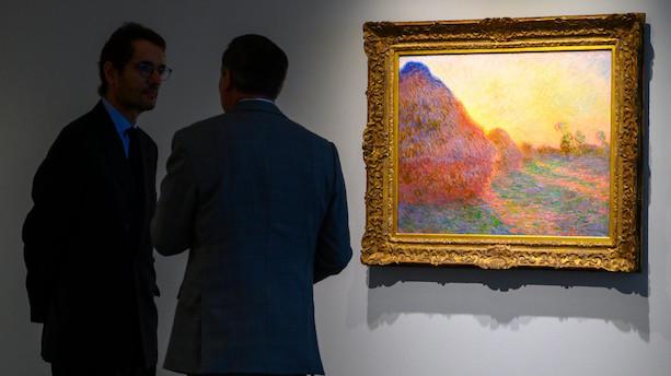 Monet-maleri går for 736 millioner kroner på New York-auktion
