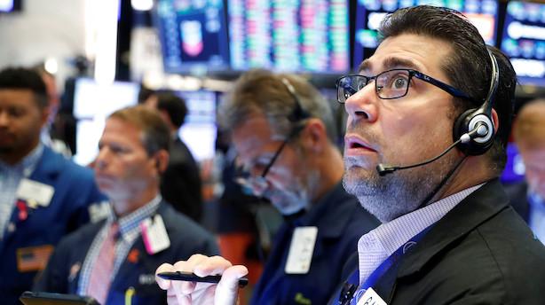 Aktieåbning i USA: Røde markeder fra start - Facebook daler ned