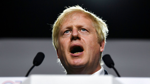 Boris Johnson vil lukke Parlamentet for at forhindre brexit-oprør - pundet falder