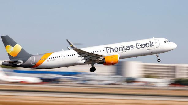 Analytiker: Thomas Cook-konkurs vil give dønninger i Europa