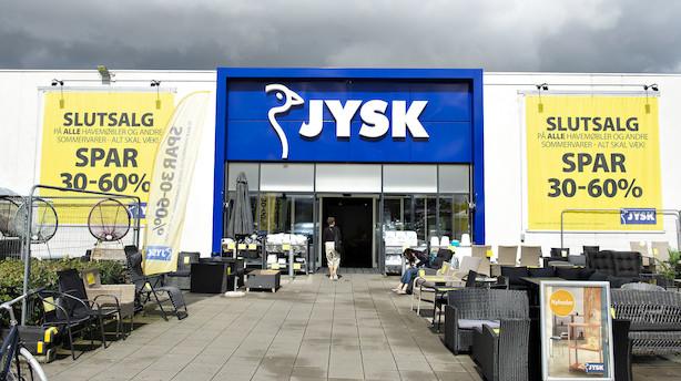 Jysk kaster bonus over butikker: Medarbejdere får i gennemsnit 19.500 kr ekstra i lønningsposen