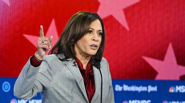 Kamala Harris trækker sig fra demokratisk præsidentopgør