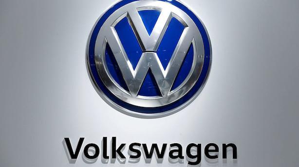 Volkswagens bundlinje kappes midt over efter skandale