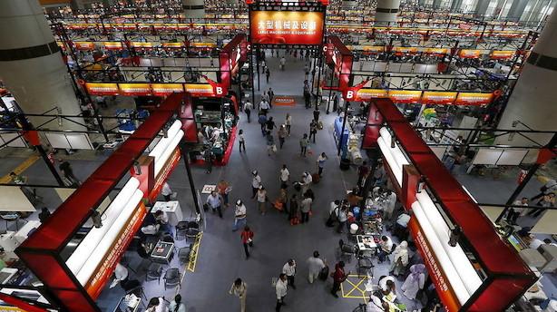 Kina: Importvæksten gik næsten i stå i december